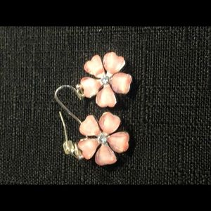 Pretty Light Pink Dangle Earrings